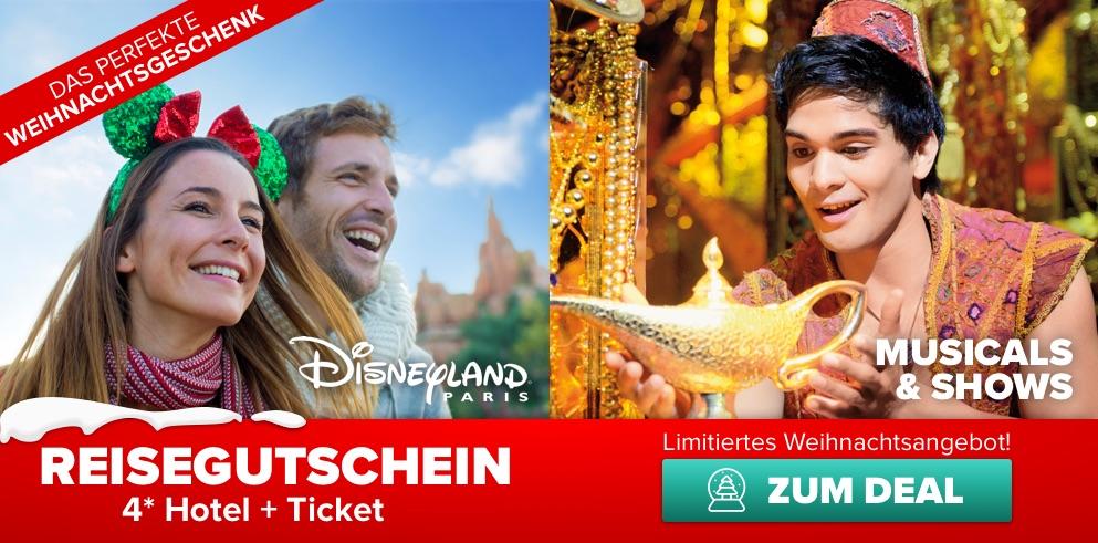 Disney reisegutschein